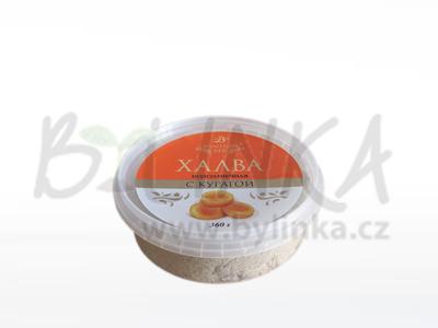 Chalva ze slunečnicových semínek – Meruňka  360g