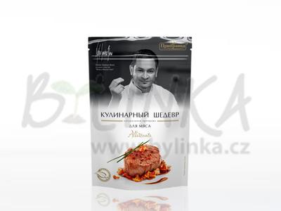 Směs koření, sušené zeleniny a bylinek pro přípravu masa – Allettante  30g