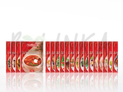 Směs koření a sušené zeleniny – Boršč  30g