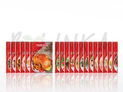 Směs koření a sušené zeleniny – Kuře  30g
