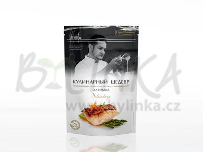 Směs koření, sušené zeleniny a bylinek pro přípravu ryb – Delicadeza  30g