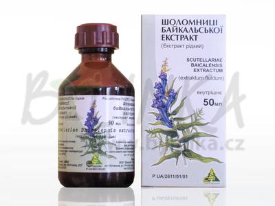 Šišák bajkalský – extrakt  50ml