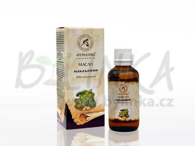 Makadamské ořechy – 100% kosmetický olej  20ml