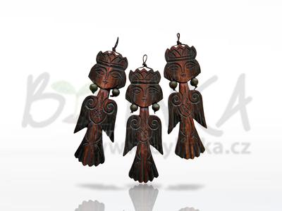 Sirin – ochranný talisman, přívěšek  11cm