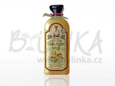 Agafea – Regenerující medový šampón s mateří kašičkou a mydlicí lékařskou 350ml