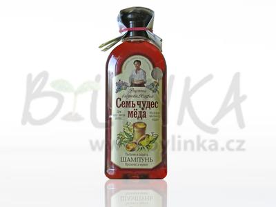 Agafea – Vyživující medový šampon s mumiem a propolisem 350ml