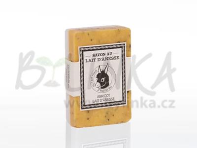 Abricot/Lait d'ânesse – Meruňka/Oslí mléko  125g