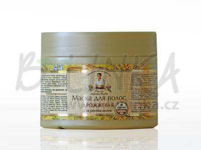 Agafea – Přírodní bylinná maska na vlasy s pivovarským droždím a cedrovým olejem 300ml