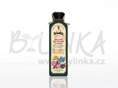 Agafea – balzám 17 sibiřských bylin – Jemný na obnovu a ochranu vlasů  350ml