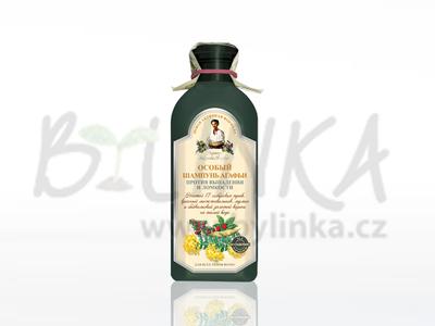 Agafea – šampón 17 sibiřských bylin – Speciální proti vypadávání a lámavosti vlasů  350ml