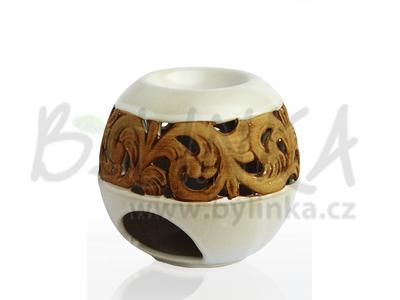 Aromalampa – Koule, bílá