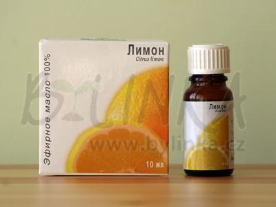 Citrón – 100% esenciální olej 10ml
