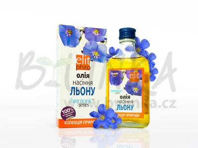 100% Lněný olej  200ml