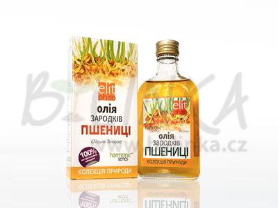 100% olej z pšeničných klíčků  200 ml