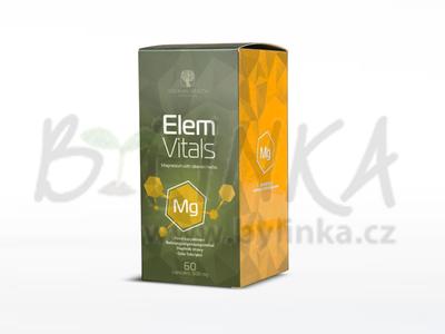 ElemVitals – Hořčík se sibiřskými bylinami  60kps.