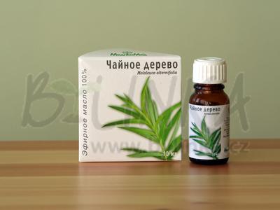 Čajové dřevo (Tea-Tree) – 100% esenciální olej 10ml