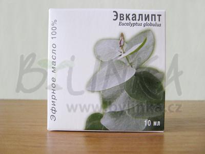 Eukalyptus – 100% esenciální olej