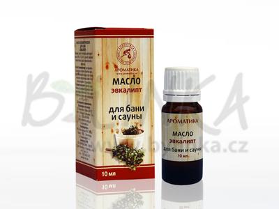 Aroma kompozice éterických olejů do sauny – Eukalypt  10ml