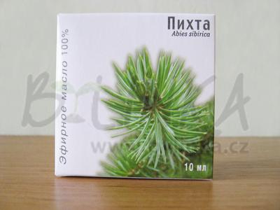 Jedle sibiřská – 100% esenciální olej
