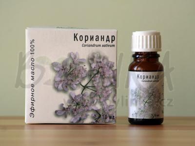Koriandr – 100% esenciální olej 10ml