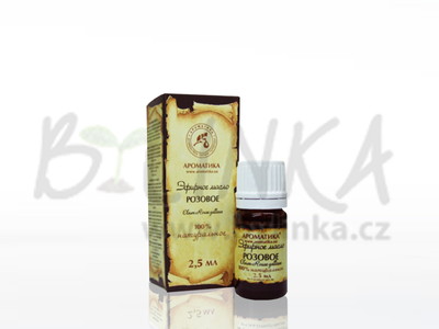 Růže Damašská – 100% kosmetický olej 2.5ml