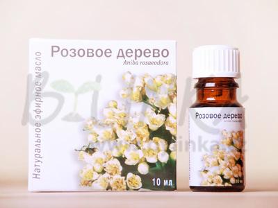 Růžové dřevo – 100% esenciální olej 10ml