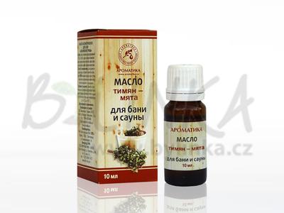 Aroma kompozice éterických olejů do sauny – Jedle  10mlAroma kompozice éterických olejů do sauny – Tymián-Máta  10ml