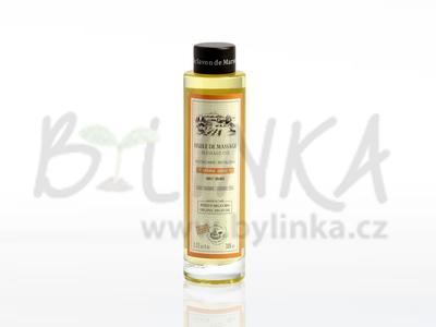 Huile d´argan Orange revitalisante – francouzský masážní argánový olej s pomerančovými květy – obnovující  100ml