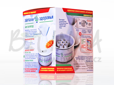 """Aromaterapeutický inhalátor """"Vůně zdraví"""""""