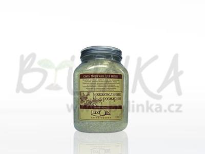 Mořská sůl do koupele Lux One – ENERGIE (bergamot + limetka)  1300g