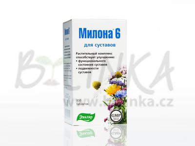 Milona 6 – klouby a chrupavky  100tbl.