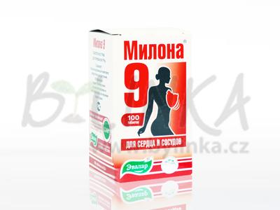 Milona 9 – cévy a srdce  100tbl.