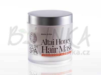 Bania Detox – Výživná maska pro barvené vlasy «Altajský med»  400ml