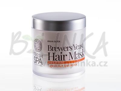 Bania Detox – Maska pro posílení vlasů «Pivní kvasnice»  400ml