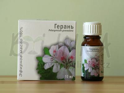 Pelargonie – 100% esenciální olej 10ml