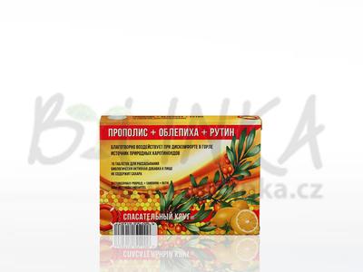 Propolis + Rakytník + Rutin  15 cucacích tablet