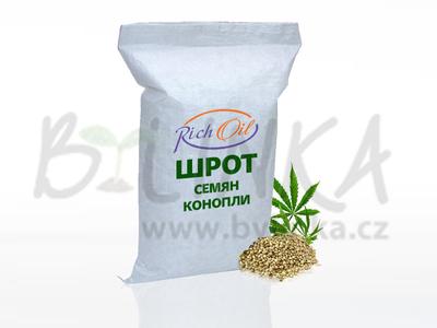 100% drť z konopných semínek RICH  250g