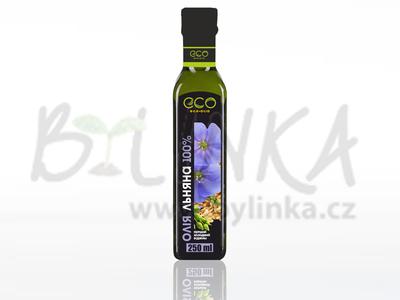 100% Lněný olej RICH  250ml