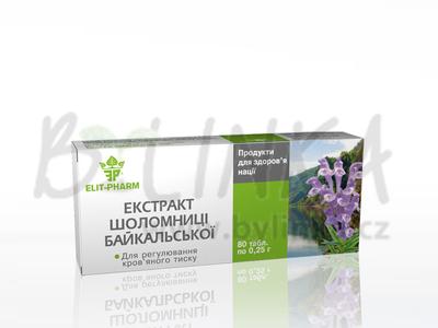 Extrakt – Šišák bajkalský