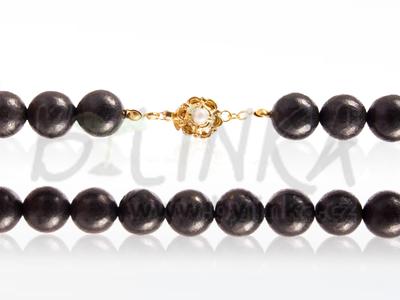 Šungitový náhrdelník 42×12