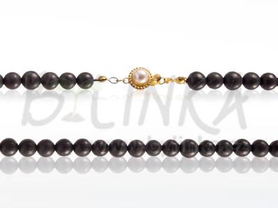 Šungitový náhrdelník 75×6