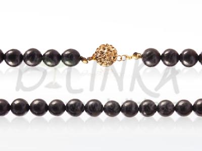 Šungitový náhrdelník 100×9