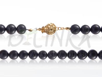 Šungitový náhrdelník 45×9