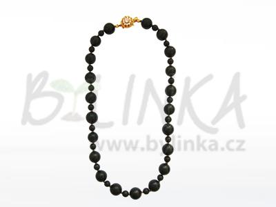 Šungitový náhrdelník ze setu Roksolana
