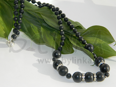 Šungitový náhrdelník Vereja