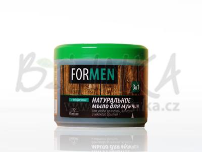 TAJGA – mýdlo pro muže s extrakty zeleného čaje, arniky a s laminárií   450g