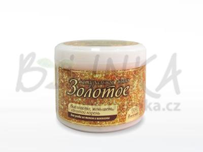 TAJGA – Zlaté mýdlo, s extrakty ženšenu, rhodioly a bio zlatem  450g
