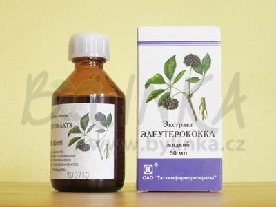 Eleuterokok extrakt 50 ml