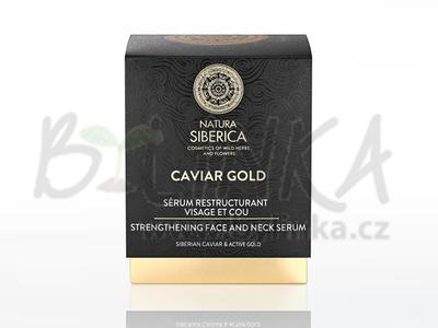 Caviar Gold – zpevňující anti-age sérum pro obličej a krk  30ml